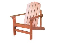 Duramen Hardwood Adirondack Chair. Quality hardwood with dark wood finish. Rust-resistant, stainless steel hardware. Comfortable contoured seat and wide armrests. Some basic, partial assembly required. Product Dimensions: 38.5*31.2*36.8 inches.