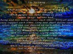Tao Te Ching verse 2