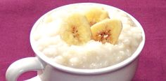 Banana Rice Pudding (RECIPE) Whether served hot or cold, rice pudding is always a family favorite. Its versatility makes this a fun and yummy recipe with which to experiment.