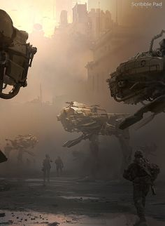 Mech concept art by xchosun1x - James Paick - CGHUB via PinCG.com