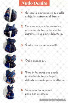 Nudo de bufandas