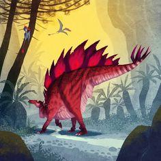 ArtStation - Stegosaurus, Johan Egerkrans