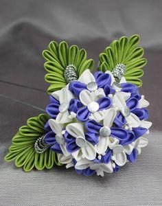 Hydrangea kanzashi by Vivcore $99.00