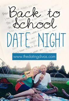 Such a cute and EASY date idea.  Especially love the MASH invite. www.TheDatingDivas.com #datenight #dateideas