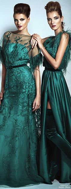 Blanka Matragi Couture Fall 2015