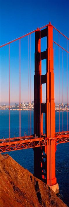 Golden Gate Bridge San Francisco  Rode a bicycle across this beauty!