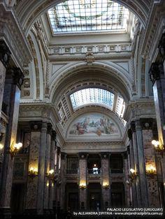 Salón de los Pasos Perdidos - Palacio Legislativo (Mvdeo - Uruguay)