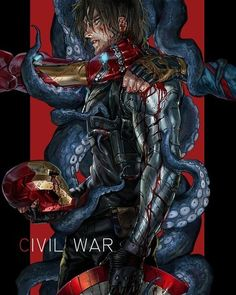 Amazing. I think that's a perfect summary of Civil War and Bucky's internal struggle throughout the whole thing. He's fighting for his life and hesitant to accept Steve's help because Hydra is still wrapped around his mind.