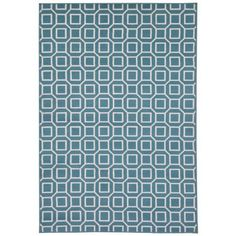 Rizzy Home Glendale Collections GD7004 3'3 inch x 5'3 inch Area Rugs, Blue