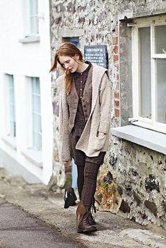 gwendoline pattern by marie wallin, rowan tweed collection