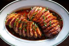 How to Cook Duck Breasts Cooking Tips and Tricks is part of How To Cook Duck Breasts Cooking Tips And Tricks - Cooking duck comes down to two things rendering the fat, and achieving crispy skin Learn how, then practice with Teriyaki Duck Breasts Goose Recipes, Meat Recipes, Chicken Recipes, Crispy Duck Recipes, Pasta Recipes, Dinner Recipes, Man Food, Food 52, How To Cook Duck