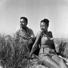Dizzy Gillespie and his wife