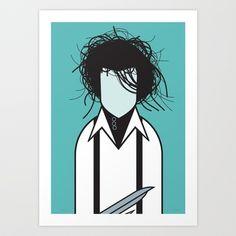 Illustration - illustration  - Edward Art Print by Ale Giorgini   illustration :     – Picture :     – Description  Edward Art Print by Ale Giorgini  -Read More –
