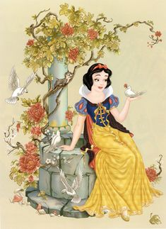 Filmic Light - Snow White Archive: The Art of the Disney Princess Revisited