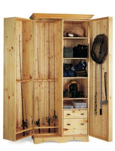 Anglers Cabinet, great idea!