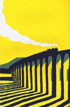 Yellow Ribblehead by Ian Scott Massie