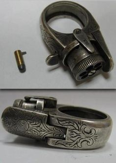 Rebels Market   Gun ring  (I can't express how much I'd like to own this)