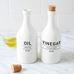 Utility Oil + Vinegar Set | west elm