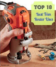 The Trim Router's Top Ten Best and Most Versatile Workshop Uses. Rockler.com Woodworking tools
