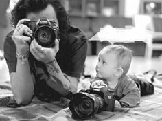 Oh my god, this screams out the Painter AU, doesn't it? like, maybe they've had a baby boy together and maybe they've named him after Matt (Matt Irwin) and Harry's eager to get him into photography from a young age. and (YN) finds it adorable when...