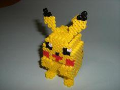 DIY 3D Pikachu perler beads - Photo tutorial