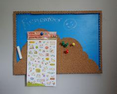 Photo - Chalk Pin Board