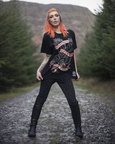 "CRMC X @jfktattoo Hotter than Hell Tattoo ""Foster Not Ravens"" Tee - currently on SALE at www.crmc-clothing.co.uk 