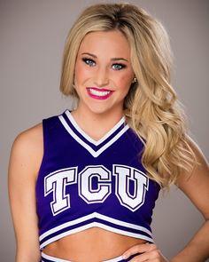 TCU cheer photoshoot – Peyton Mabry