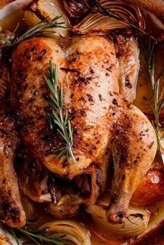 EASY TUSCAN ROAST CHICKEN IF YOU ARE INTERESTED IN EATING DELICIOUS FOOD, YOU SHOULD CONTINUE READING BECAUSE TODAY, OH TODAY, WE ARE SERVING UP THE GOOD STUFF. THIS TUSCAN ROAST CHICKEN COOKED IN WHITE WINE IS CHICKEN PERFECTION.