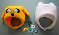 The Finn and Jake Winter Hats