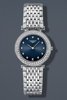 Longines La Grande Classique de Longines Diamond Bezel Diamond Markers Quartz Women's Watch Longines http://www.amazon.com/dp/B00GZIWPK4/ref=cm_sw_r_pi_dp_ANJOtb1M554N1PH5