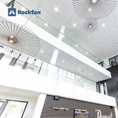 Rockfon's beautiful range of modern acoustic solutions make today's office sound as good as it looks. Our ceilings and wall solutions are perfect for today's offices because they are hygienic and resistant to mould and bacteria. Some models even reflect daylight to improve visual comfort. The result? People can create, concentrate and collaborate, while Rockfon products quietly absorb noisy distractions and provide energy-efficiency.  #Rockfon  #ceilingdesign #interiordesign #architecture… Office Ceiling, Acoustic Design, Sound Absorbing, Office Environment, Visual Comfort, Ceiling Design, Energy Efficiency, Ceilings, Offices