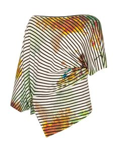 Vivienne Westwood Anglomania Art Lover stripe-print top  | Shop now at #MATCHESFASHION