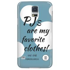 PJs Are My Favorite Clothes - Phone Case  http://www.5050projects.com/products/pjs-are-my-favorite-clothes-1