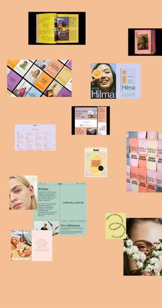 Bright and Playful mood board by Here and Now Creative Co. | #moodboard #brandinspiration #moodboardaesthetic #brandinspomoodboard #brandinspirationstyleguide #brandidentity