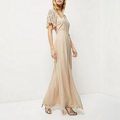 Pink embellished maxi dress - maxi dresses - dresses - women