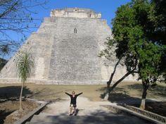 Ruta Puuc-Uxmal-Pirámide del Adivino.