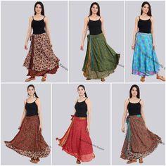 Skirts #SilkSkirt #WomenSkirt #wrapskirt #wraparoundskirt #midiskirt #handmadeskirt #indianskirt #printedskirt #girlsskirt #SilkSkirtLot #IndianSilkSkirts #BohoSkirts #womenskirts #HippieSkirts #SummerSkirts #MaxiSkirts #MultiColour #BeautifulDesign #WholesaleLot #ClothingSkirts #FloralSkirt #MandalaSkirt #DesignerSkirt #EthnicSkirt #BeachCoverUpSkirt #Newdesignskirt #reversibleskirts #Partywearskirt #casualskirt #Silkfabricskirts #VintageSilkSkirt #BohemianWomen #DoubleLayer #LongSkirt Long Silk Skirt, Maxi Skirt Boho, Bohemian Skirt, Gypsy Skirt, Hippie Boho, Hippie Skirts, Boho Skirts, Maxi Skirts, Wrap Skirts