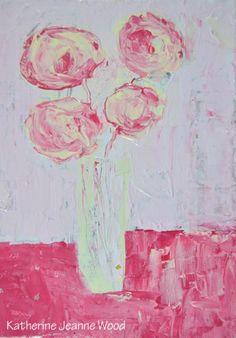 Katherine Jeanne Wood - 5x7 Flower Series No 137 01