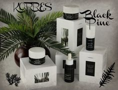 The Korres Black Pine skincare collection firms, lifts and hydrates!