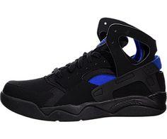 best sneakers 0d66c 81d9c Nike Air Flight Huarache - Black   Lyon Blue, 7.5 D US