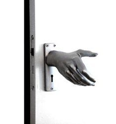 Hand-le Doorknob welcomes all