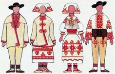 sk clanok 6184 kroje-a-ich-vyzdoba-cat-cier Folk Costume, Costumes, Embroidery, Education, Pattern, Crafts, Fictional Characters, Color, Art