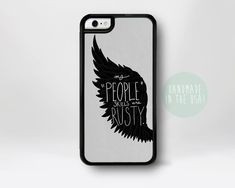Castiel iPhone Case Supernatural iPhone Case by fancase on Etsy