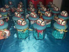 Frascos souvenirs monorriel junior express
