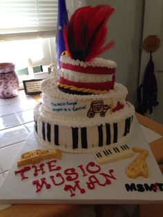The Music Man Cake