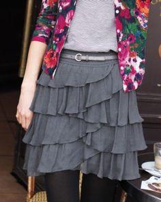 Marseilles Silk Skirt