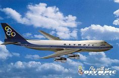 Fly with us Olympic airways Boeing B747-200