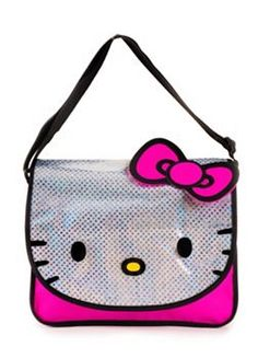 Hello Kitty Glitter Messenger Bag Hello Kitty Bag 627c4e32a2162