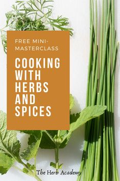 Discover how to elevate your cooking from bland and boring to bursting with flavour and flair. Aroma is responsible for as much as 80 per cent of the flavour of a dish. This helps to explain the popularity of cooking with herbs and spices. Incorporating them in a dish enhances the aroma of the dish and, in turn, its flavour.  #herbalism #herbology #cookingcourses #goodeats #gourmetrecipes #flavoryourworld